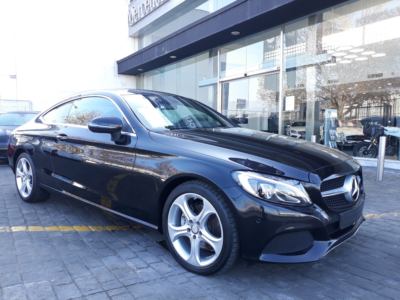 MERCEDES C 220 D COUPE